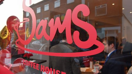 Access Community Trust's social enterprise cafe - Sams Coffee House on Bevan Street East, Lowestoft.