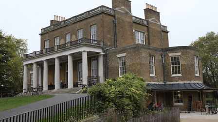 Clissold House as it looks today