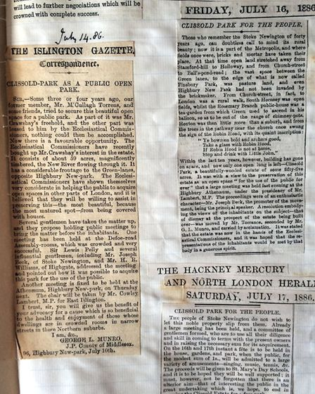 Clippings about the campaign