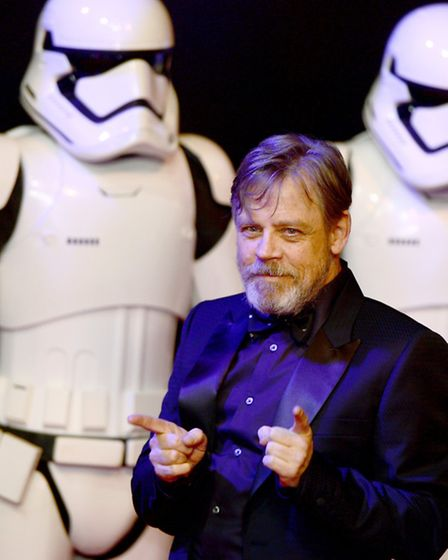 Mark Hamill is a bona fide Kinks fan. Photo: Anthony Devlin/PA Wire