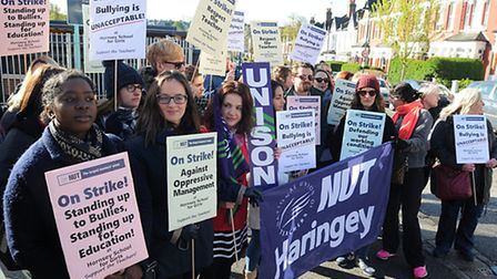 Teachers at Hornsey School for Girls are campaigning against 'bullying' by management. Photo: Chris