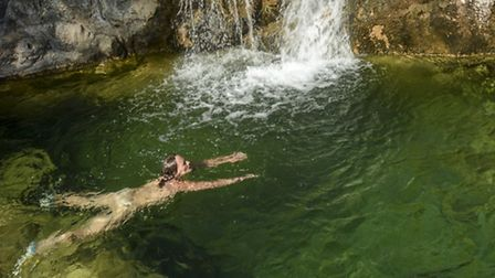Wild swimming in Spain