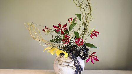 Despite looking very contemporary, the art of ikebana has been practiced for centuries