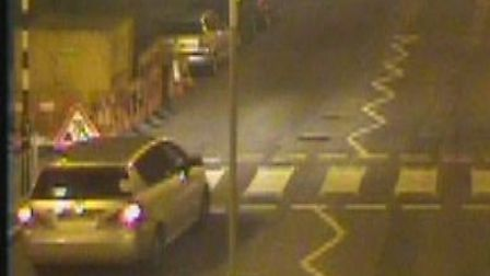 Police have released this CCTV image of a car they wish to trace