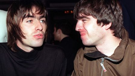 Oasis stars Liam (left) and Noel Gallagher were regulars at The Steele's Photo by Fiona Hanson/PA.