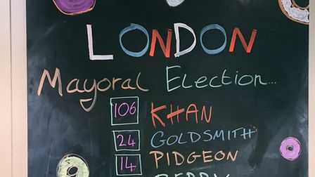 The results at 5.30pm this afternoon