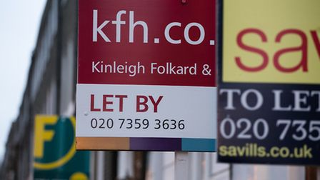House prices in Hampstead have fallen almost 10 per cent