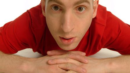 Comedian Adam Bloom. Picture: Andy Hollingworth