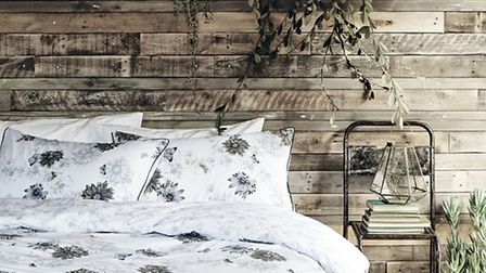 Do a supermarket sweep and bag a By Sainsbury�s embroidered bedlinen set from the striking Botanist