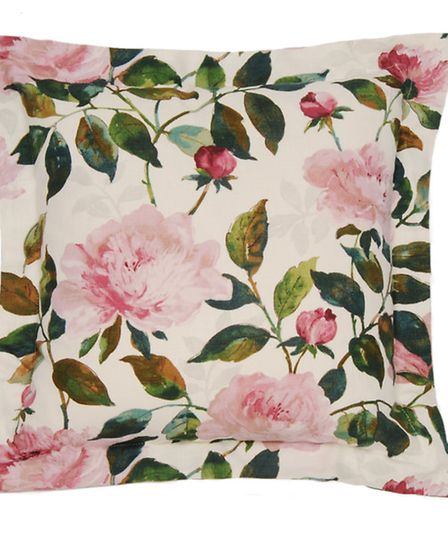 Peony Fuchsia Cushion, �60, In-Spaces. PA Photo/Handout