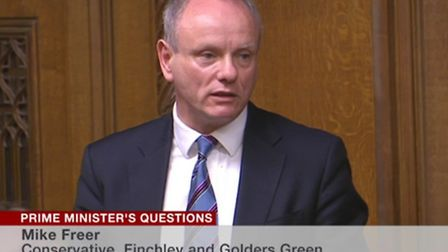 Finchley and Golders Green MP Mike Freer asked the Prime Minister about the NHS refusal to fund an