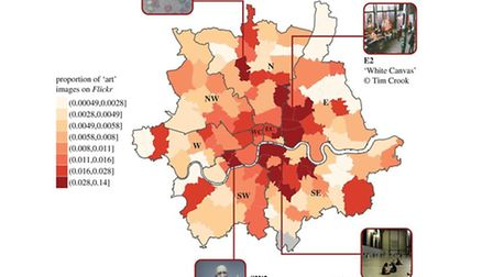 The study from the University of Warwick ranks Muswell Hill as one of highest density areas of Londo