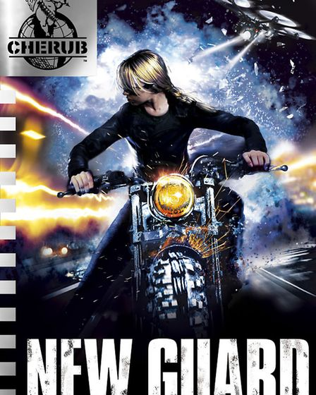 The cover of New Guard, the last CHERUB novel