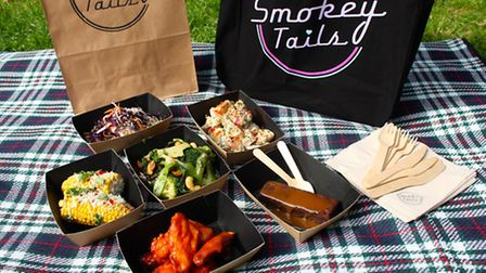 Smokey Tails picnic selection