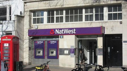 A woman had money stolen from her bank account after using an ATM in Hampstead High Street