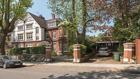 This ground floor flat on Heath Drive in Hampstead is on the market for the first time in 65 years