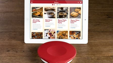 The Bluetooth technology in the Drop kitchen scales, £79.95 from the Apple store, will encourage Ham