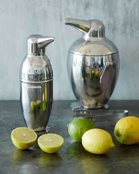 Penguin barware, from £35 at Graham and Green, are the perfect combination of cute and cool for Prim