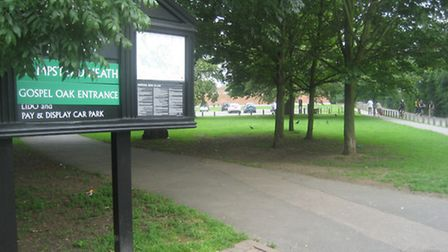The attacks took place near the Lido entrance to Hampstead Heath