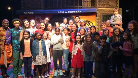 """Coleridge Primary school on a trip to see salsa musical """"In the Heights"""" to inspire them for their s"""
