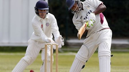 Jaron Semper was part of a tail-end resistance that added 51 runs to North Middlesex's total but tha