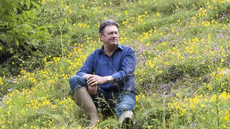 Alan Titchmarsh, who is spearheading the Butterfly Conservation's Plant Pots for Pollinators campaig