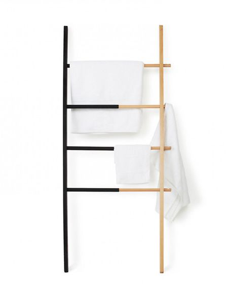 Theres an informal elegance about ladder storage, and Red Candys Umbra Hub ladder starts from �100