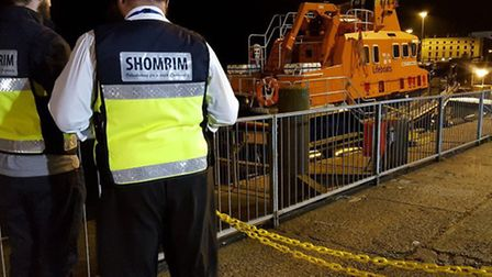Shomrim volunteers in Dover. Picture: @Shomrim