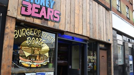 Tom Reaney owns two other branches, including Stokey Bears in Stoke Newington