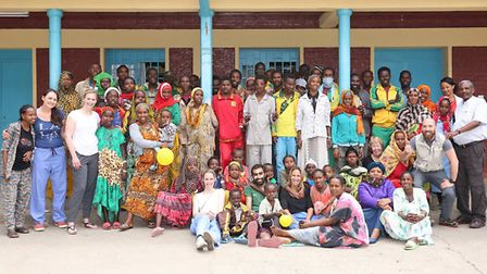The Project Harar team in Ethiopia