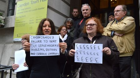 Leaseholders have said they are sick of being used as a 'gravy train' by Camden Council
