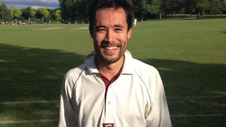 David Stranger-Jones struck a half-centruy for Coach & Horses in their defeat to Clapton & Oval