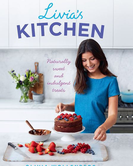 The cover of Olivia Wollenberg's cook book, Livia's Kitchen