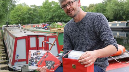 Luke runs the country's only floating record store
