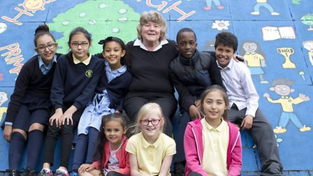 Brenda Sullivan, 67, has been a teacher at Holmleigh High school, Stamford Hill, for over 30 years a