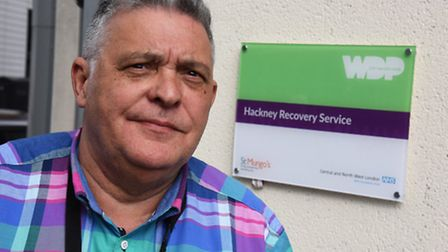 Thomas Bailey has been awarded a Civic Award for his work at the Hackney Recovery Service