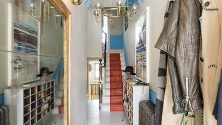 Berryman loves colour and advises her clients to embrace it, as she has in her Hampstead home