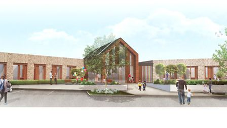 The new plans for the children's hospice have been revealed ahead of an open day tomorrow.