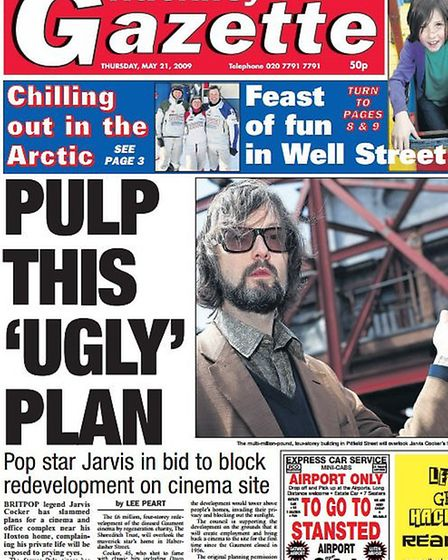 Pulp this 'ugly' plan: The Gazette splash from May 21 2009