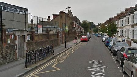 The 17-year-old was stabbed in Princess May Road, Dalston. Picture: Google Maps