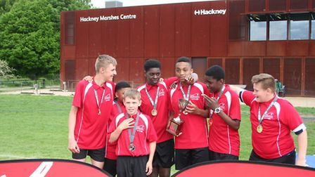 Some of the medallists