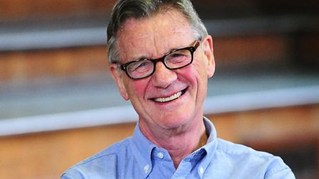 Michael Palin seen on the first day of rehearsals in London, for their new show Monty Python Live (m