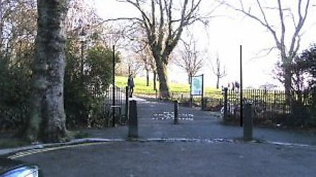 Two poles will be located at the end of Elsworthy Terrace near the entrance to Primrose Hill