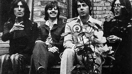 The house on Swains Lane was used as a backdrop in The Beatles 'Mad Day Out' photoshoot with war pho