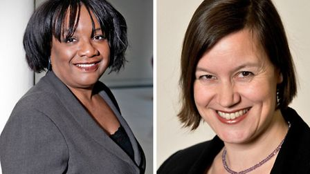 MPs Diane Abbott (left) and Meg Hillier (right)