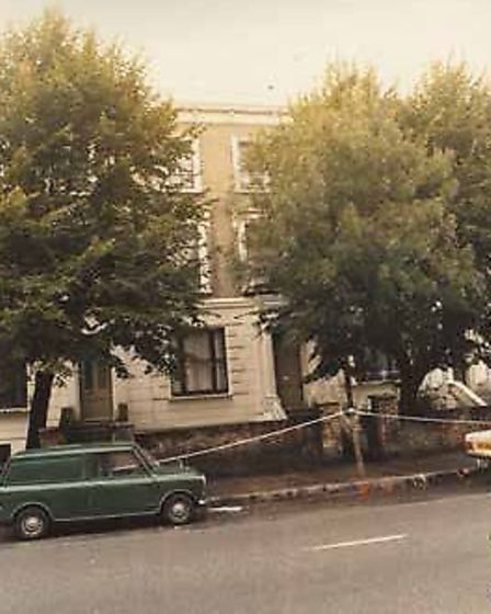 The Belsize Road house where Yiannoulla Yianni was murdered