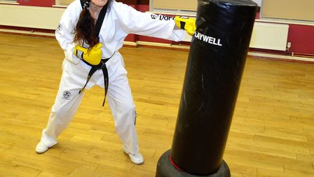 Mary Sellen is teaching WTF Taekwondo to men, women and children of all ages and ability on Tuesday