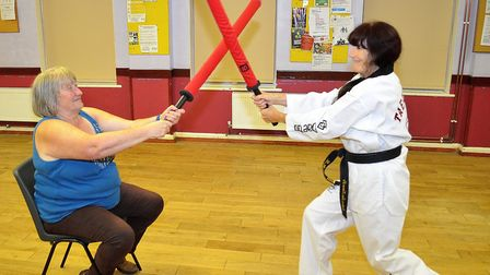 Mrs Sellen has emphasised that taekwondo is a martial art accessible for everyone. Picture: Mick How