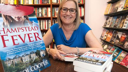 Dr Carol Cooper launches her latest novel Hampstead Fever at Daunts,South End Green