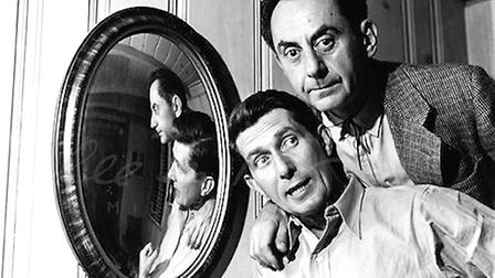 Roland Penrose and Man Ray, Los Angeles, USA, 1946. Picture: Lee Miller Archives, England 2013